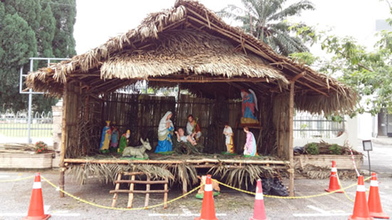 Construction Halfway Through Crib Completed One Day Before 1st Sunday Of Advent