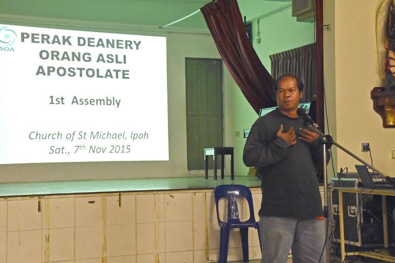 Sharing session by other Perak parishes