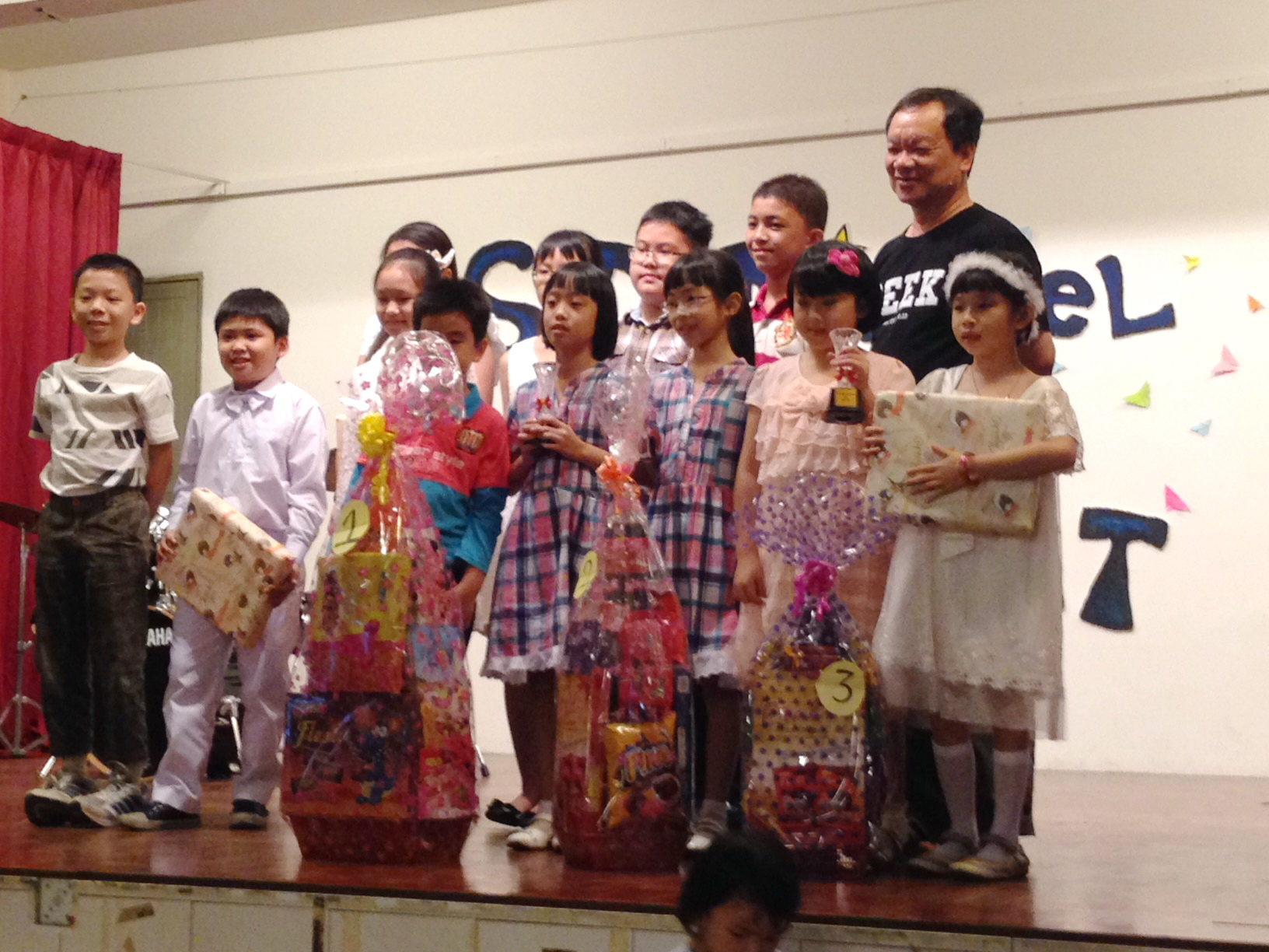 Primary school performers