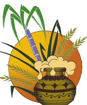 Ponggal clipart