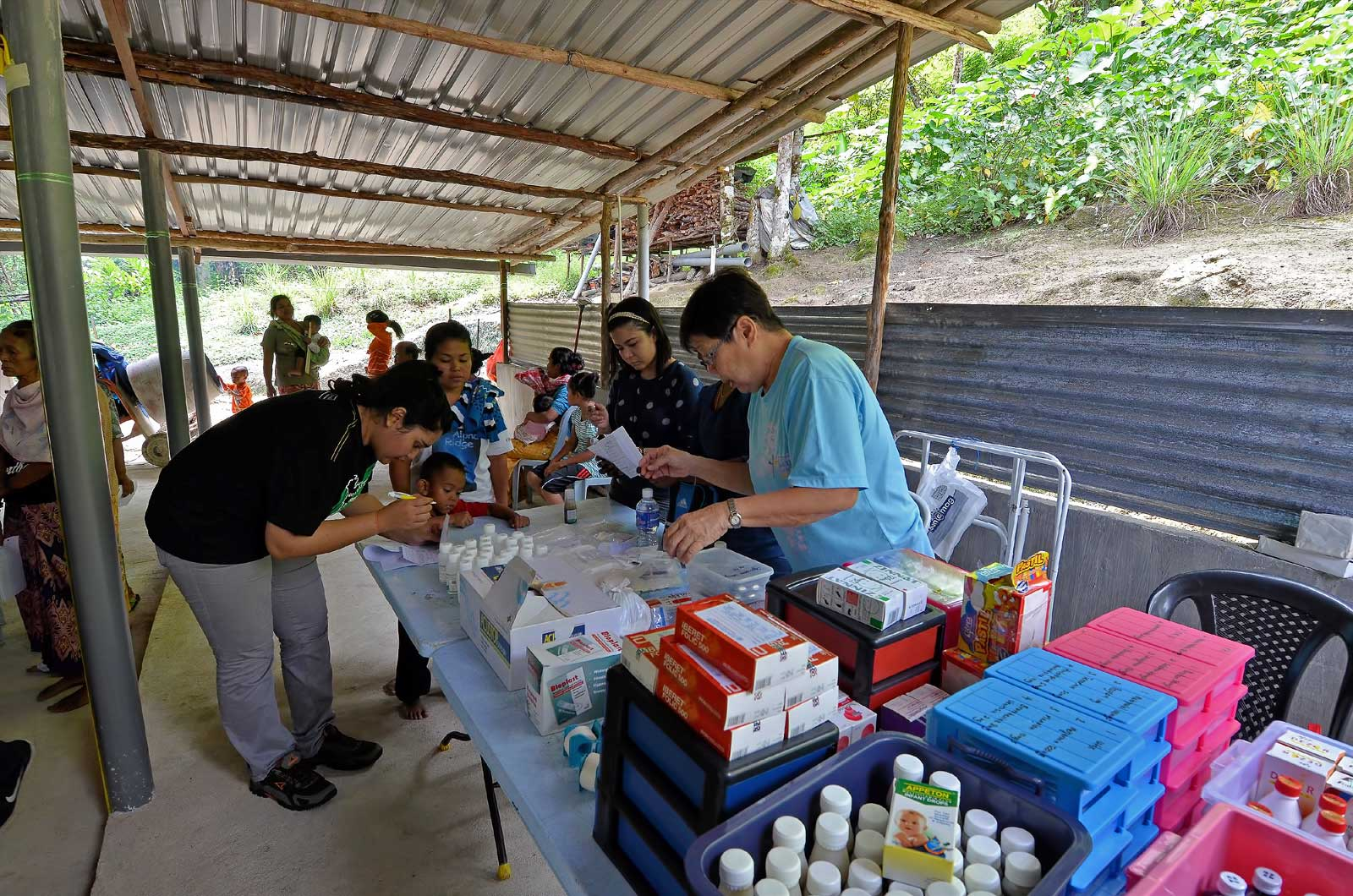 Medical camp Kg Sekam