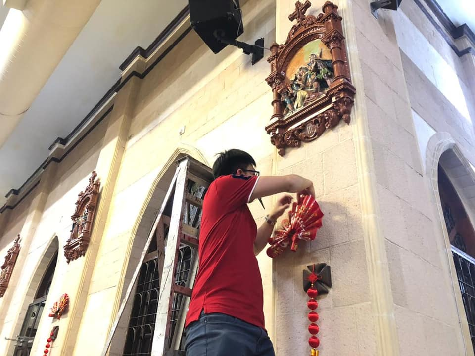 Preparation for Chinese New Year 2019 in SMC